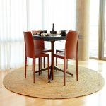 round jute sisal rug ikea small dining room set red dining chairs small black dining table decorative dining tools wooden floor
