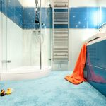 Rug Ocean Shower Bath Tub Toy Tile