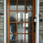 simple front door wood
