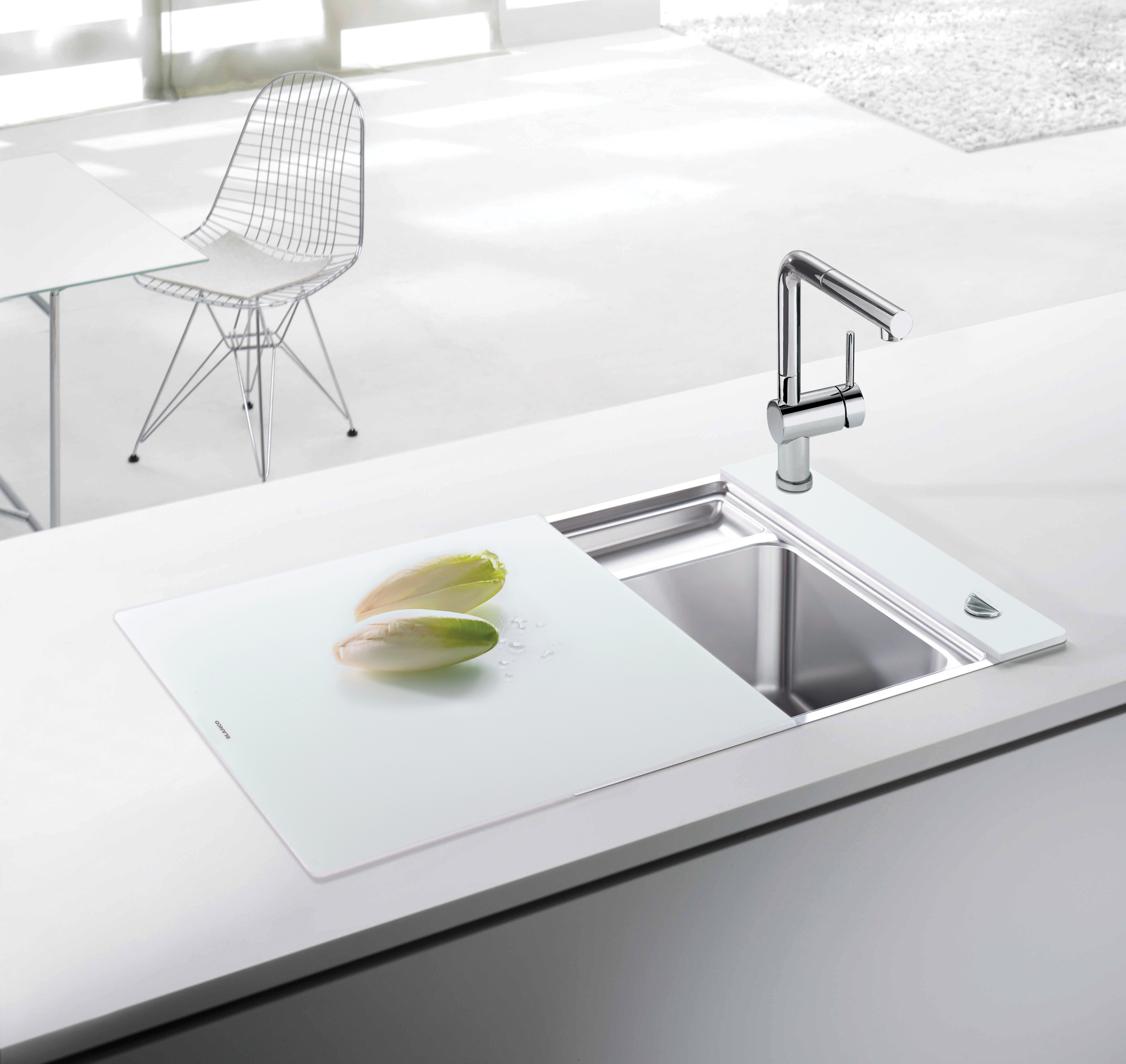 White Kitchen Sink Faucet Design Of Kitchen Sink Homesfeed