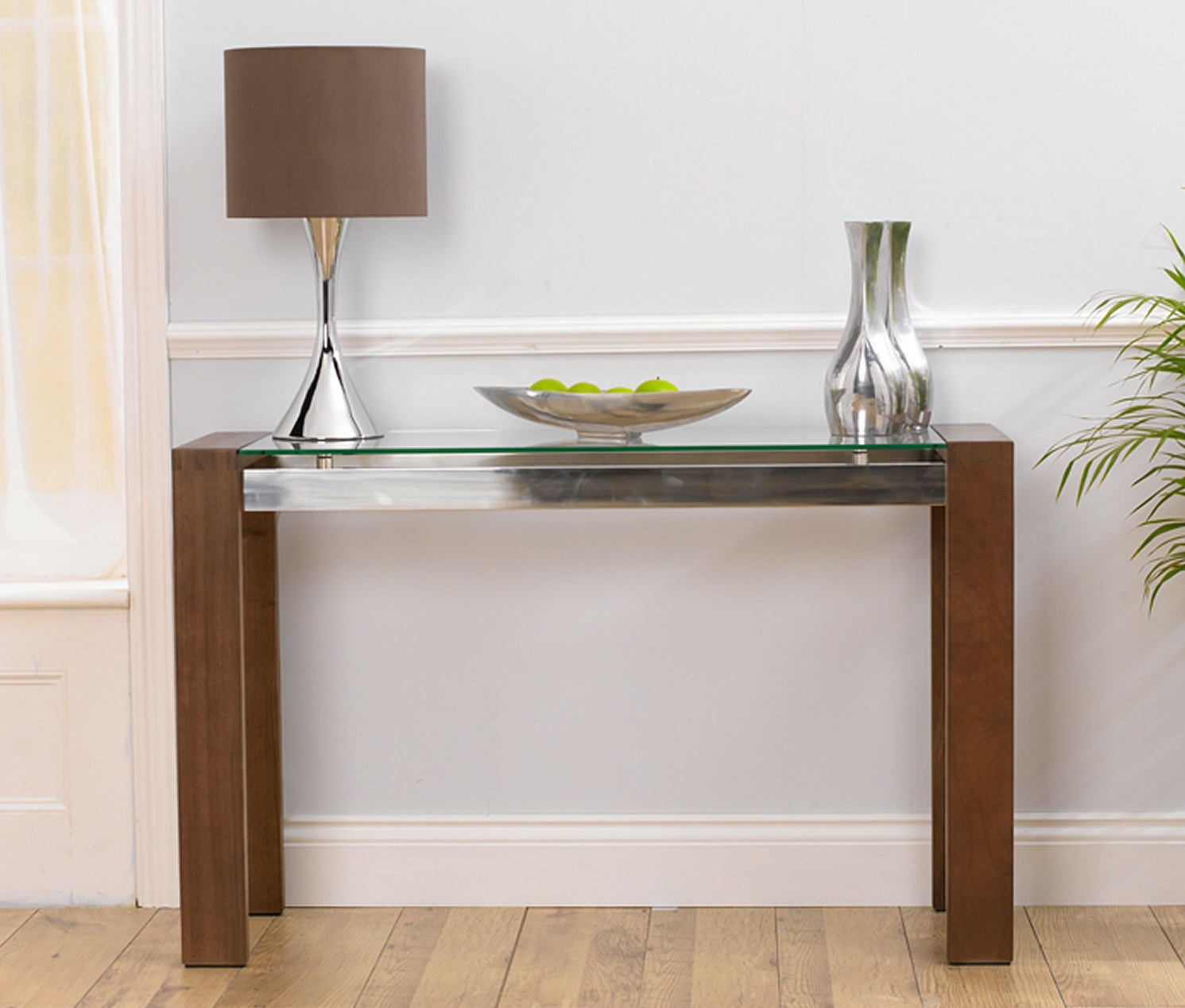 slim console tables
