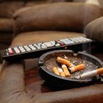 Smoke Asthray Sofa Remote