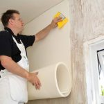 solid walls insulation insulation work during construction professional hands