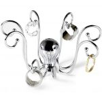 sophisticated octopus bunny ring holder design made of stainless steel design with rings