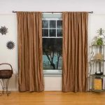 sound reducing curtains with iron shelves for decorative elemeny and metal table for basket and laminate floor