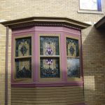 stained glass windows for homes simple design stained glass windows brick siding house