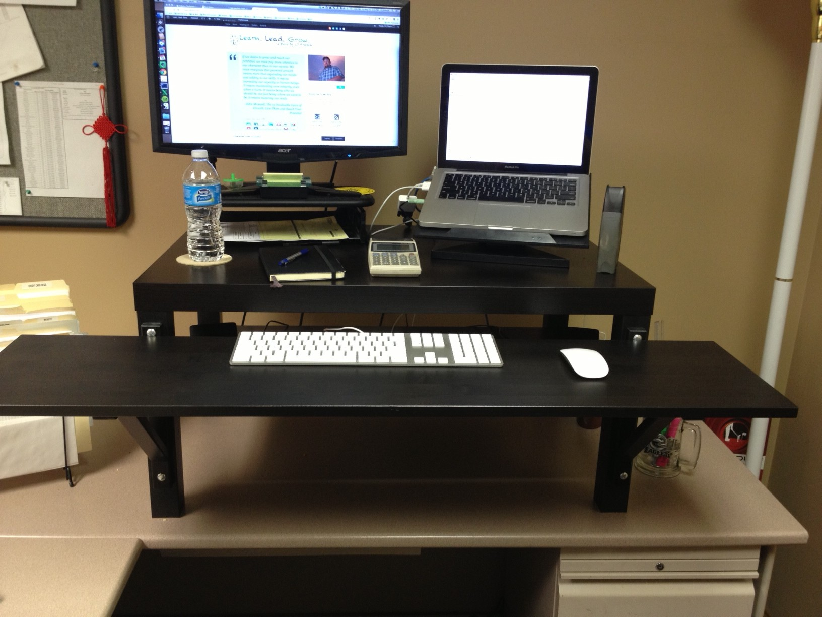 Make Your Own Standing Desk Homesfeed
