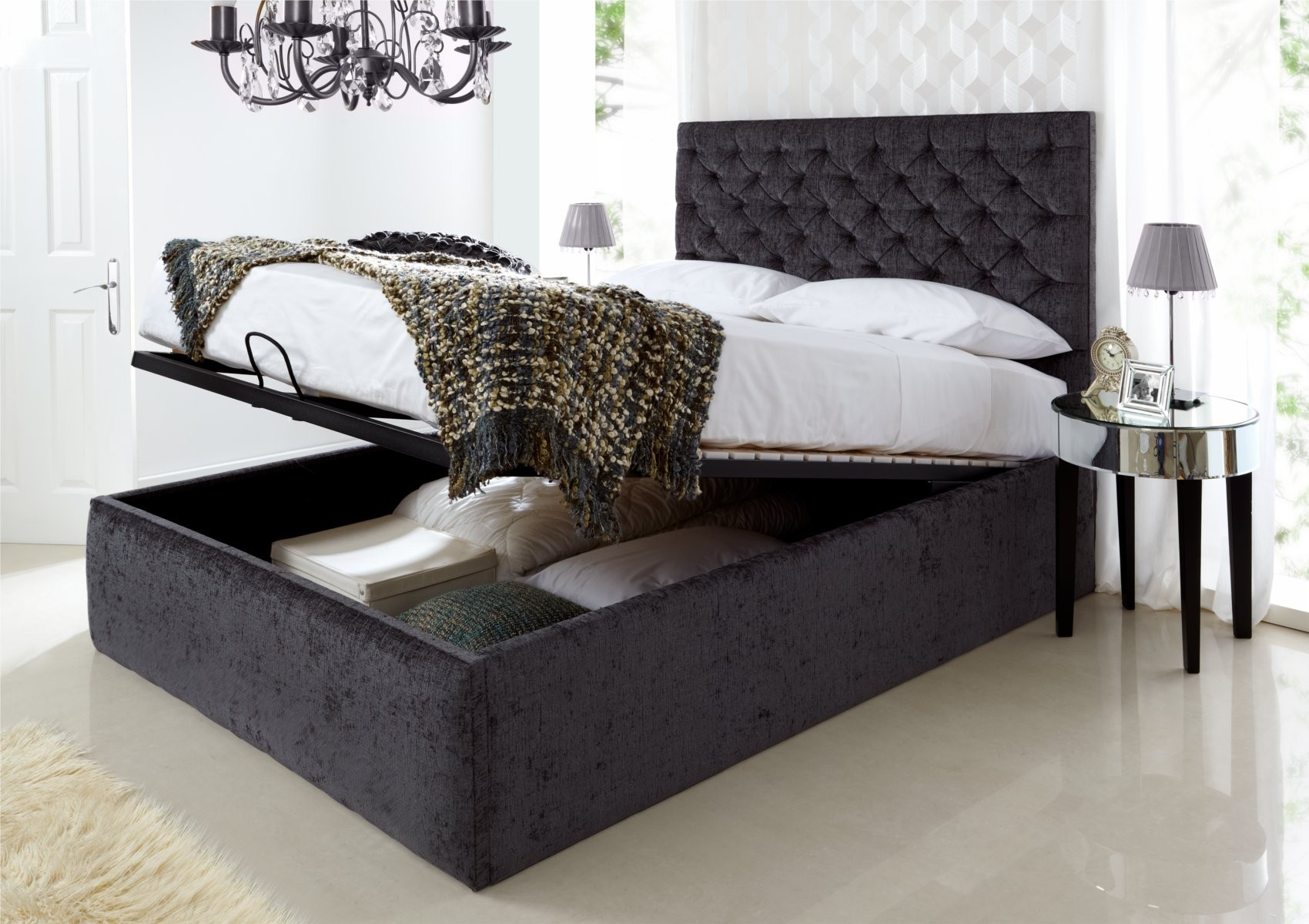 Storage beds nyc inspiration homesfeed - Bed desine double bed ...