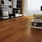 stunning engineered hardwood flooring pros and cons for living room ideas with modern tv set with glass door and comfy sofa and modern table lamp