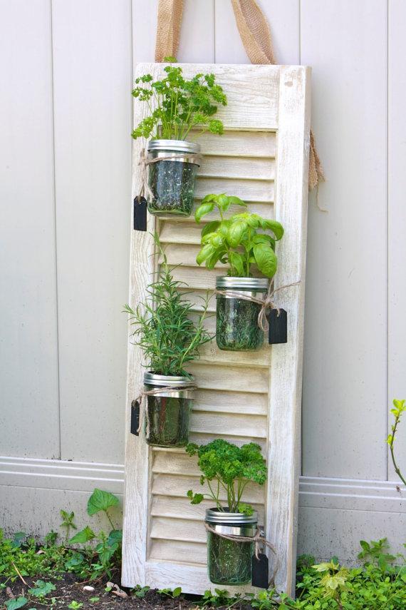 Wall Herb Garden Outdoor Vertical Planter