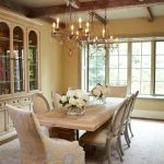 table chairs buffest chandelier rug