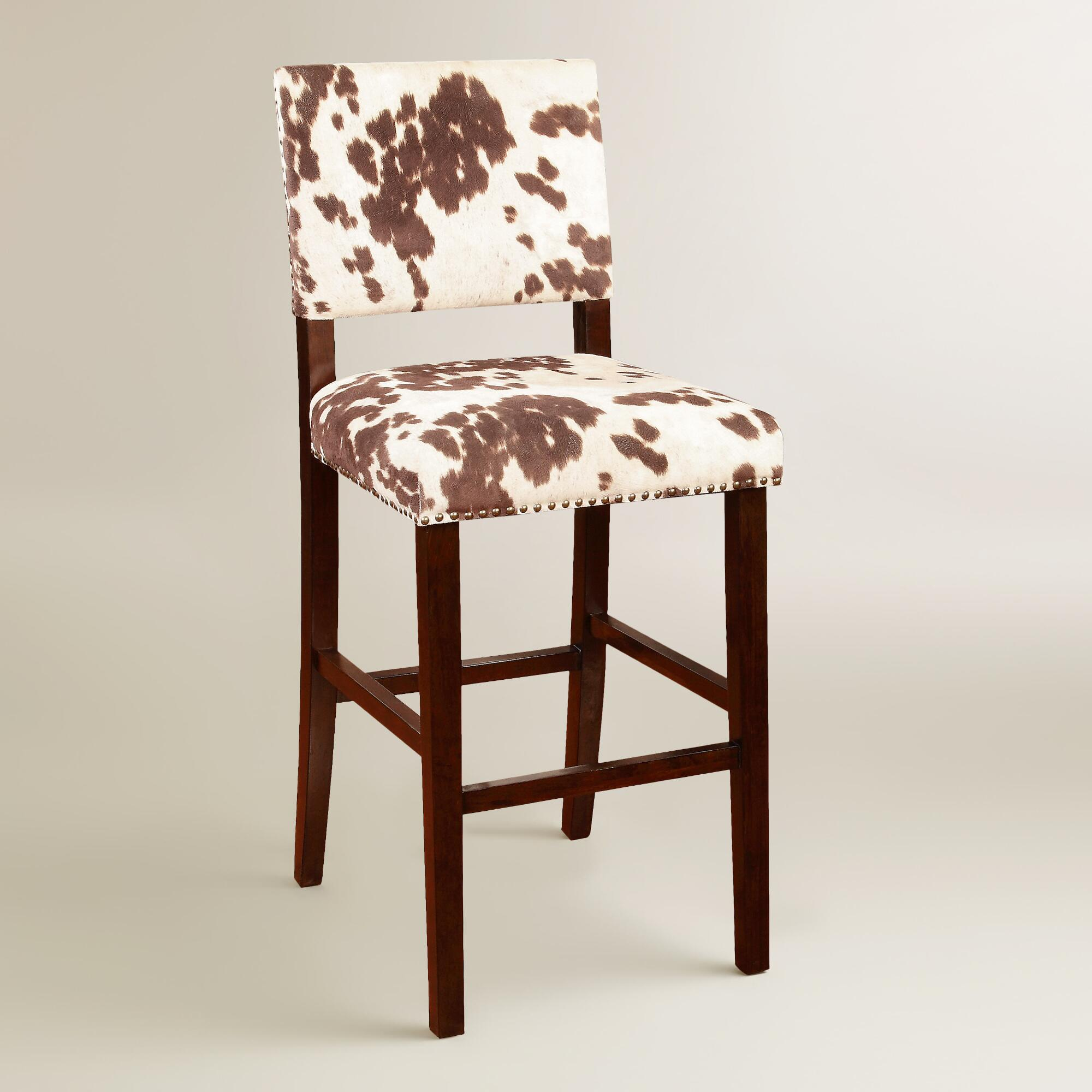 Fresh Have a Cow Print Chair for Interior with Sweet Milky Nuance  BP21