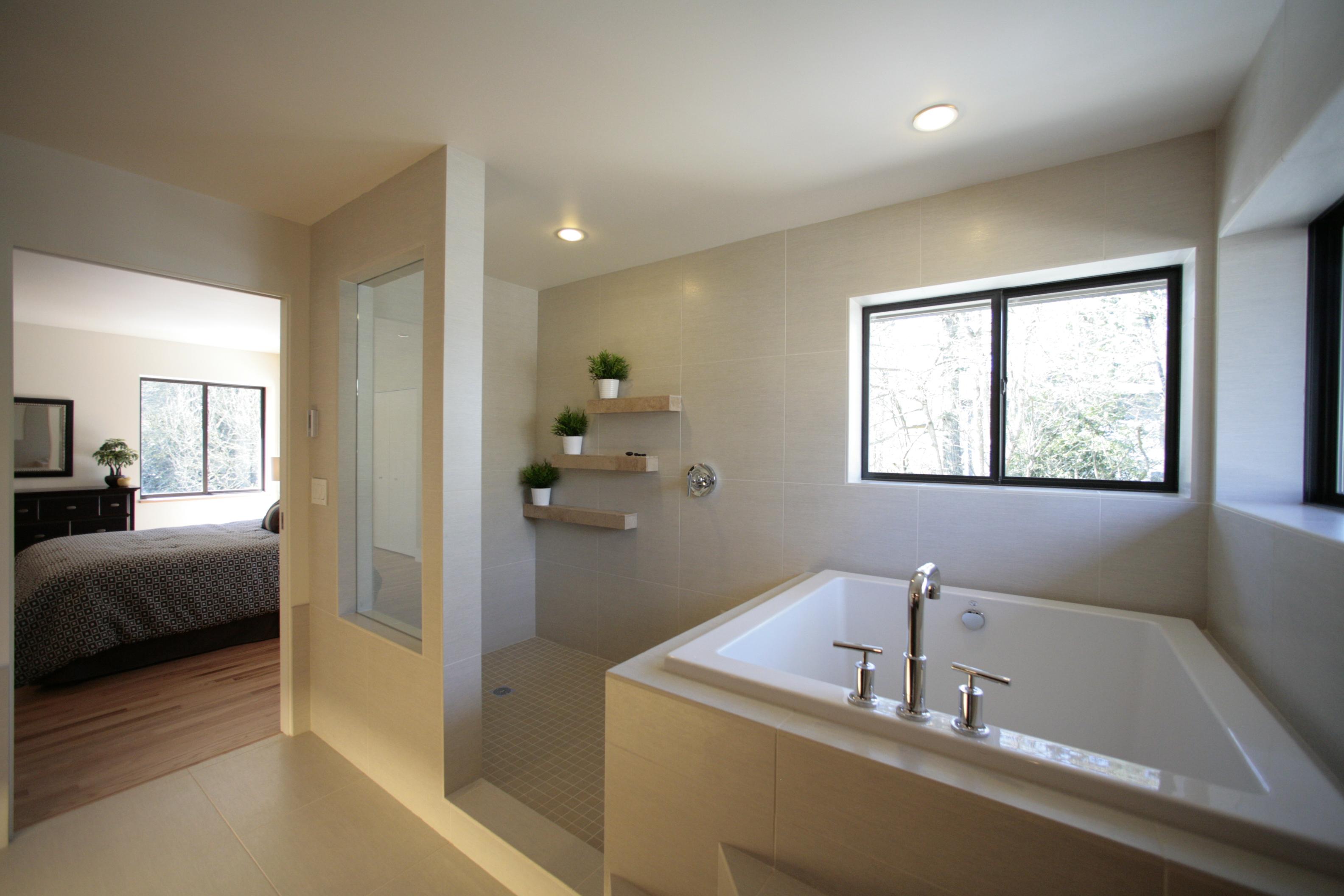 bathroom tub shower | homesfeed Tub Shower Design Ideas