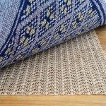 unique cream best rug pad for hardwood floor with blue ethnic patterned area rug with gray accent