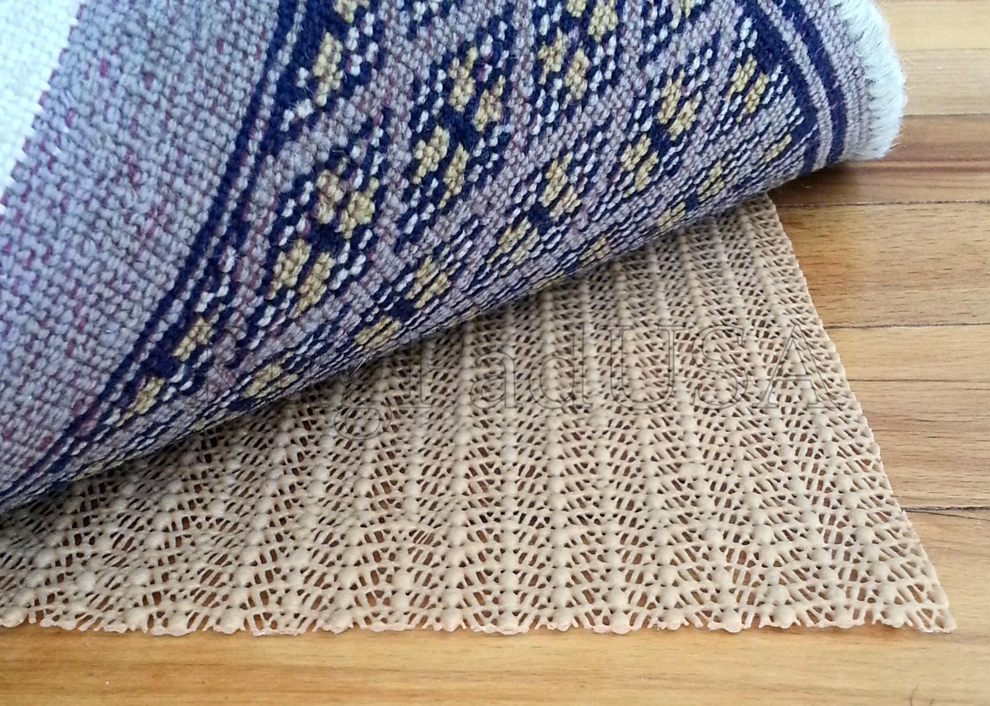 Rug pads for wood floors gurus floor for Rugs for wood floors