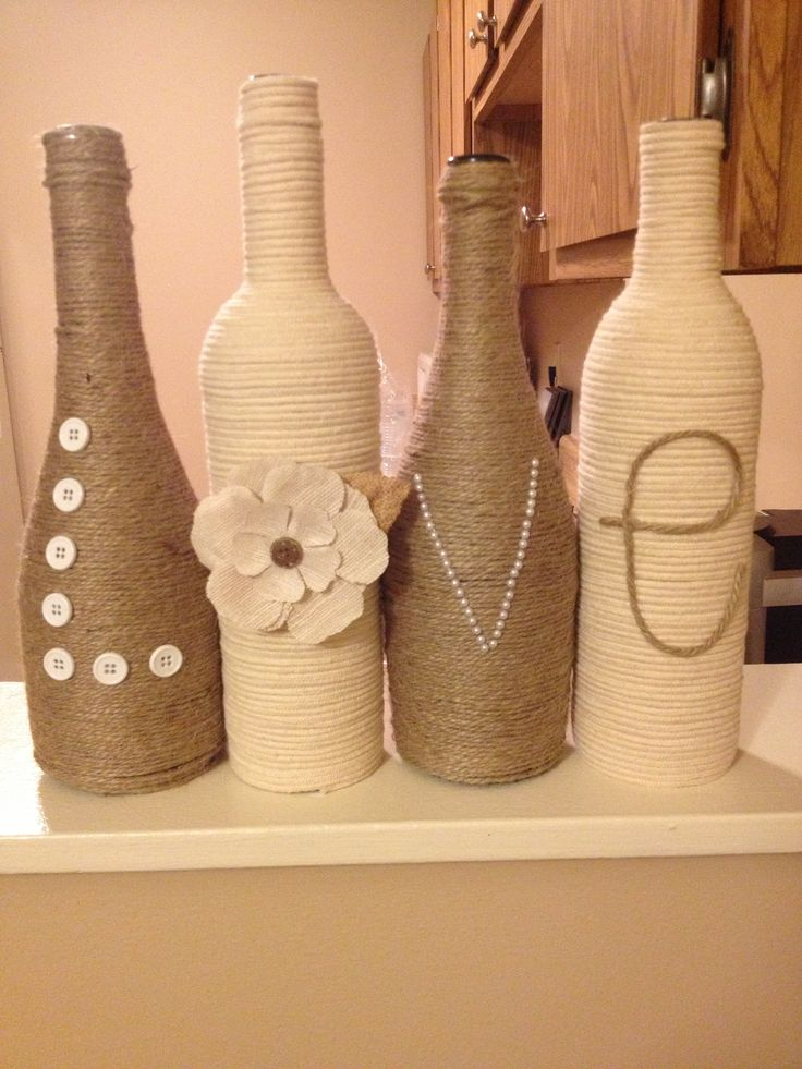 wine bottle decorating ideas  u2013 best prep for fall and