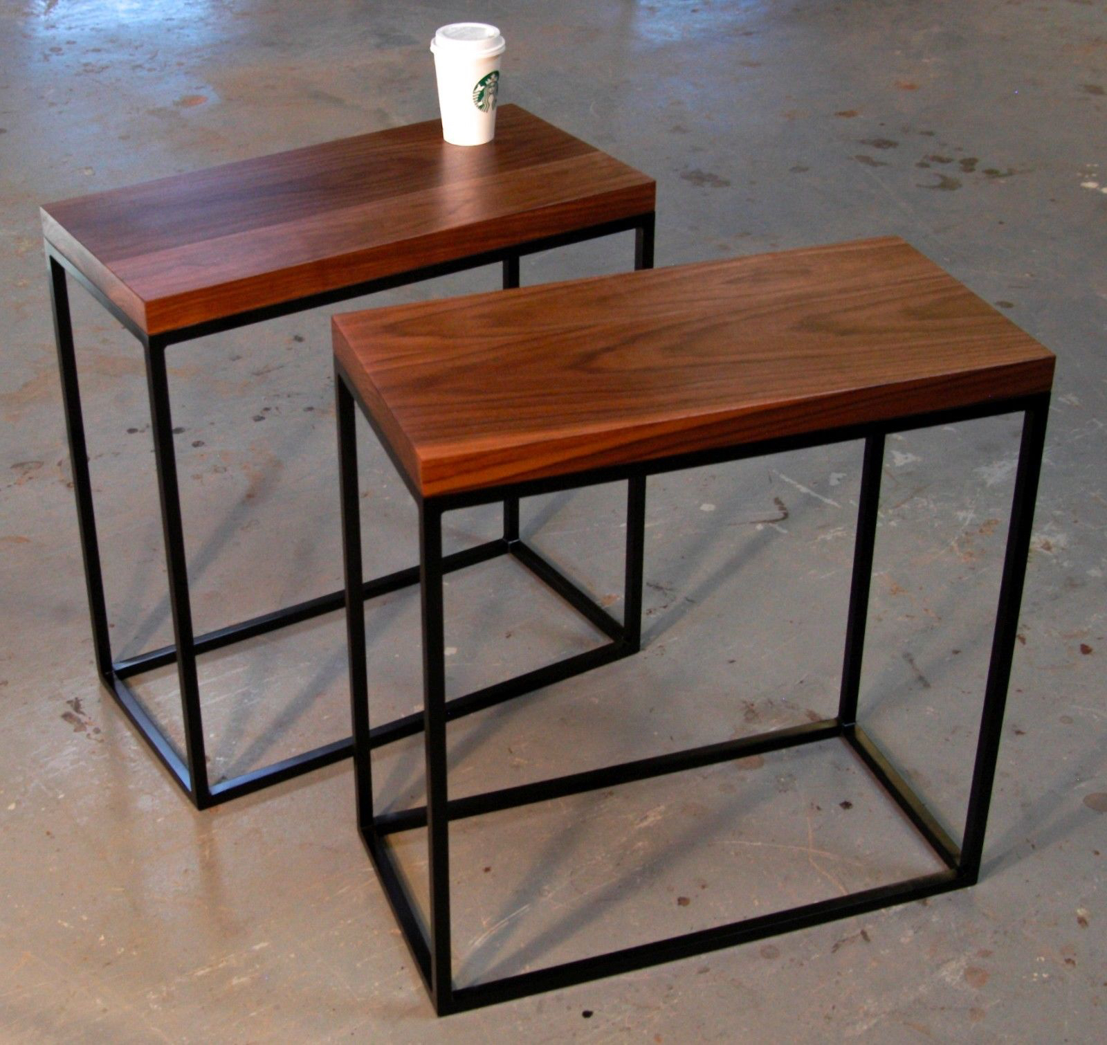 Skinny Side Table Appears To Save The Space Without