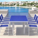 white blue recycled milk jug furniture pool deck plastic lumberoutdoor furniture wonderful open ocean view small swimming pool white swimming pool deck