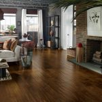 wonderful engineered hardwood flooring pros and cons for home interior with living room combined with kitchen plus cool fireplace and white loveseat