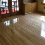 wood floor doors
