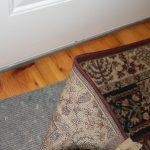 wood floor matt
