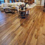 wood floor sofa table lamps kitchen set