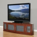 wood tv stand long cabinet