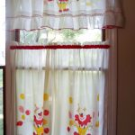19th window curtain idea with modern pattern and image