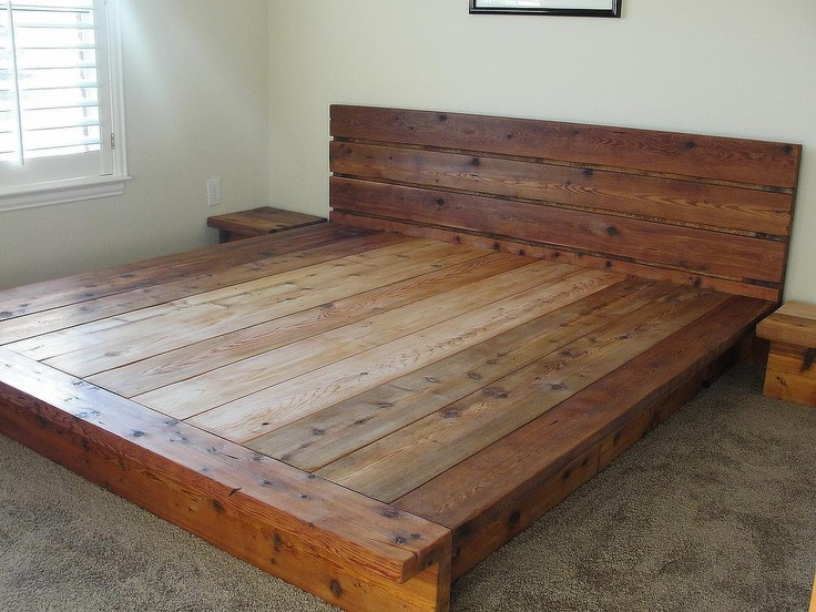 Headboad Platform Bed