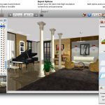 A sample of home designer software in drafting 3 dimension home interior