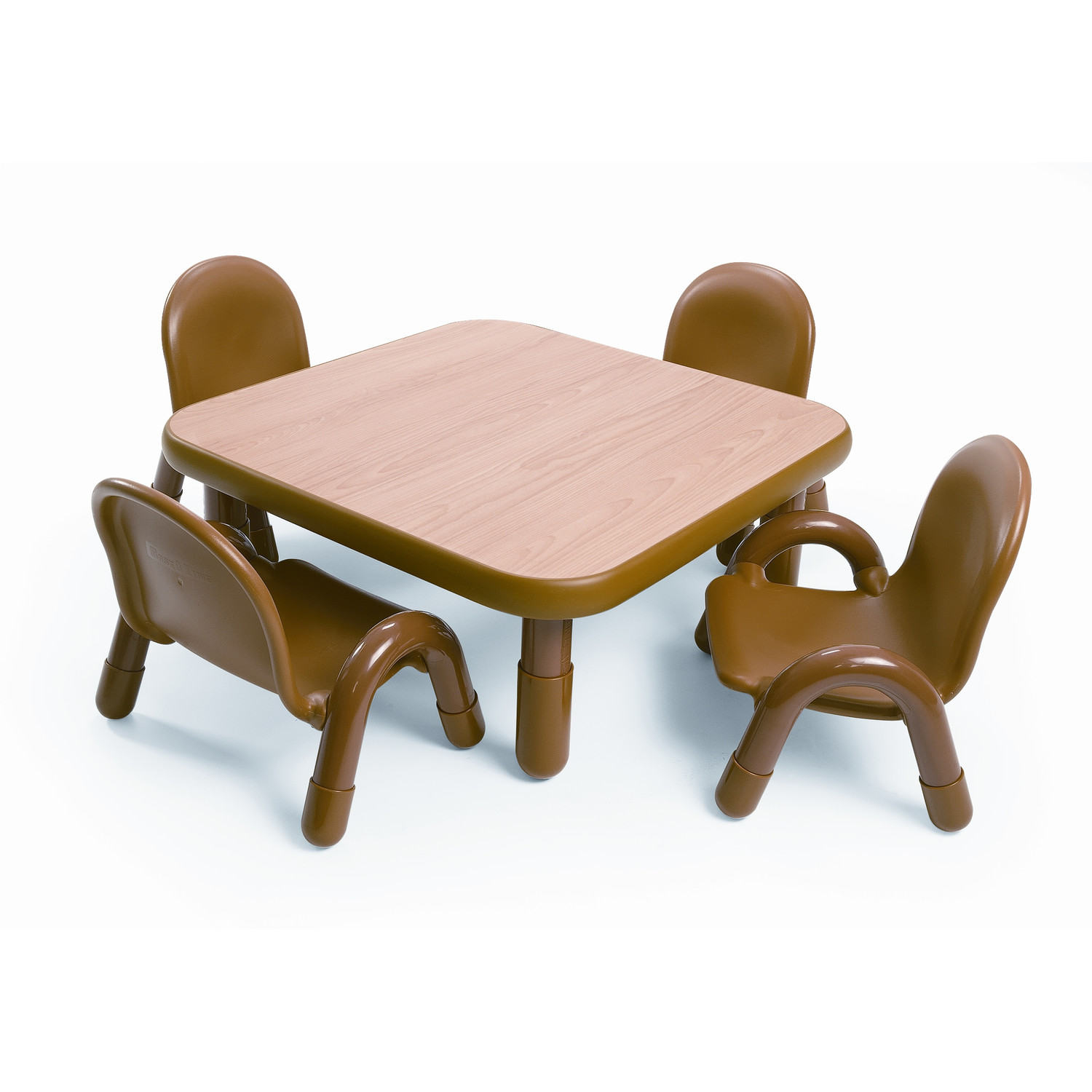 Simple Minimalist Dining Set: Simple And Minimalist Table And Chair For Toddlers
