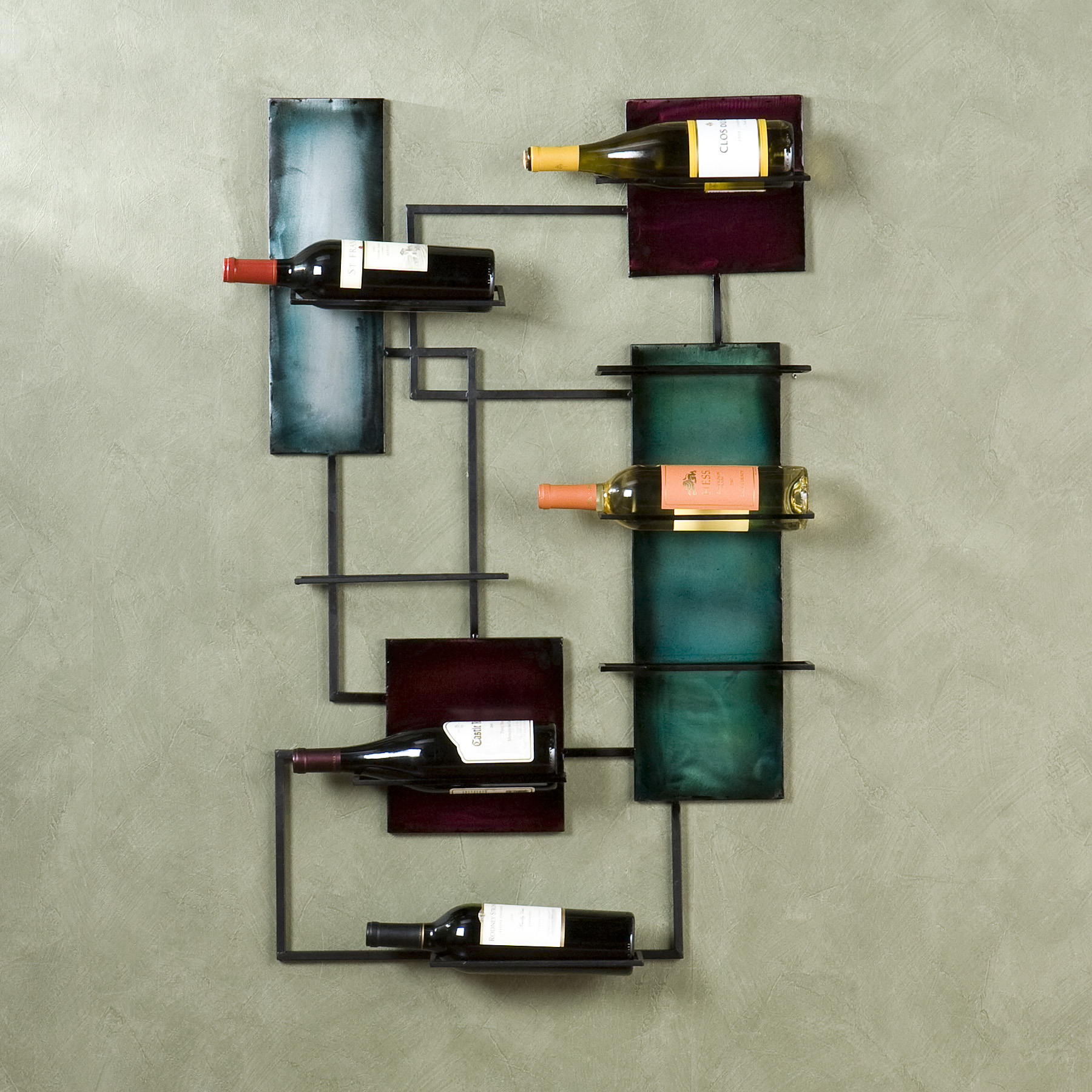Wall Mounted Wine Glass Holder Homesfeed