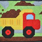 Baby Boy Quilt With Truck Picture