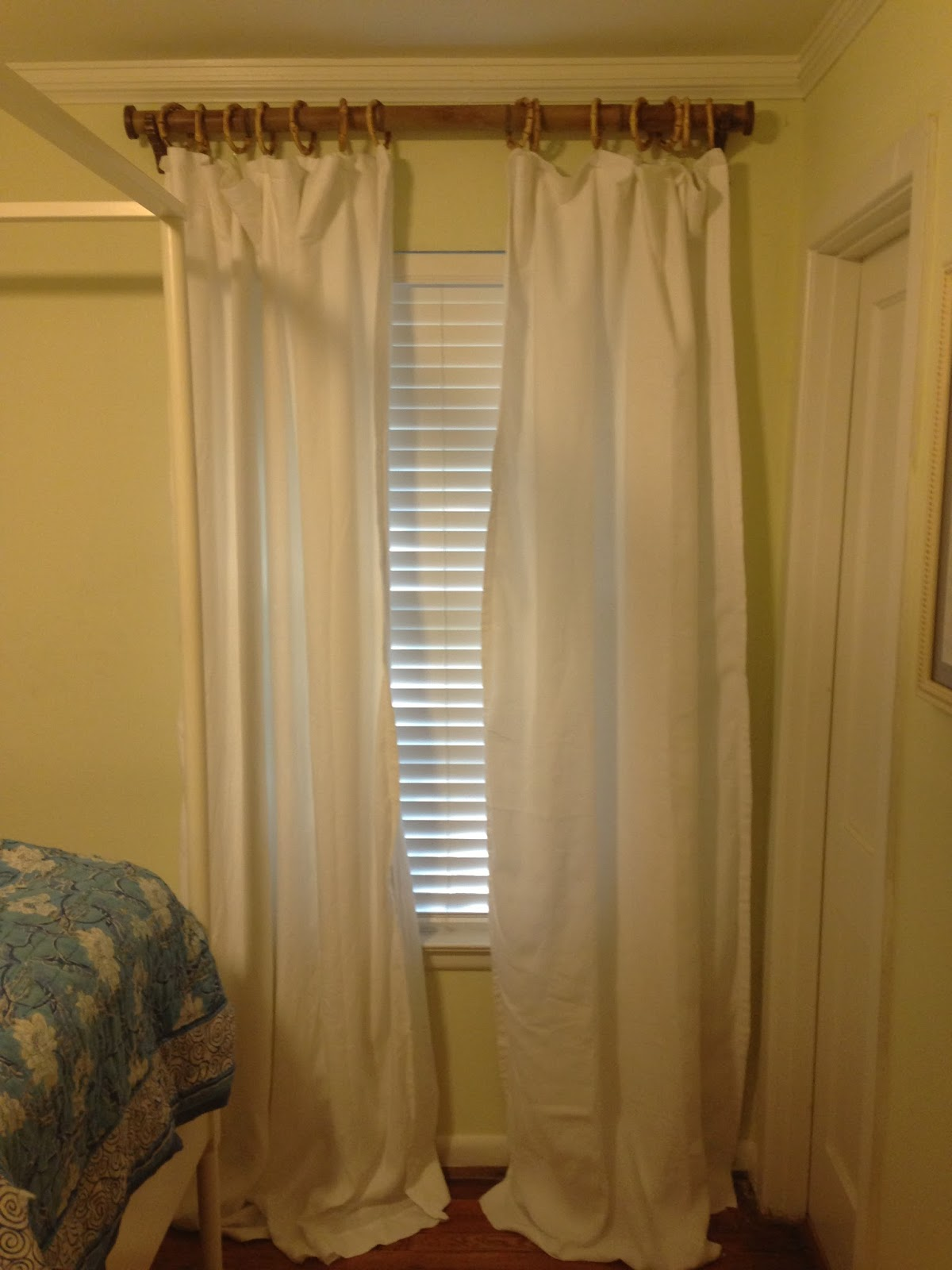 Bamboo Beaded Curtains Bedroom