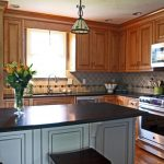 Base and wall kitchen cabinet clearance for L shape kitchen set