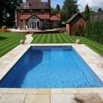 Best Architecture Of Swimming Pool House With Tile Deck