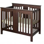 Black Wooden Small Crib