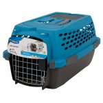 Blue And Grey Modern Dog Crate