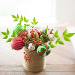 Bouquet Christmas centerpiece