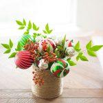 Bouquet Christmas centerpiece