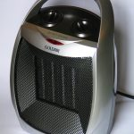 Ceramic Metal Black Room Heater