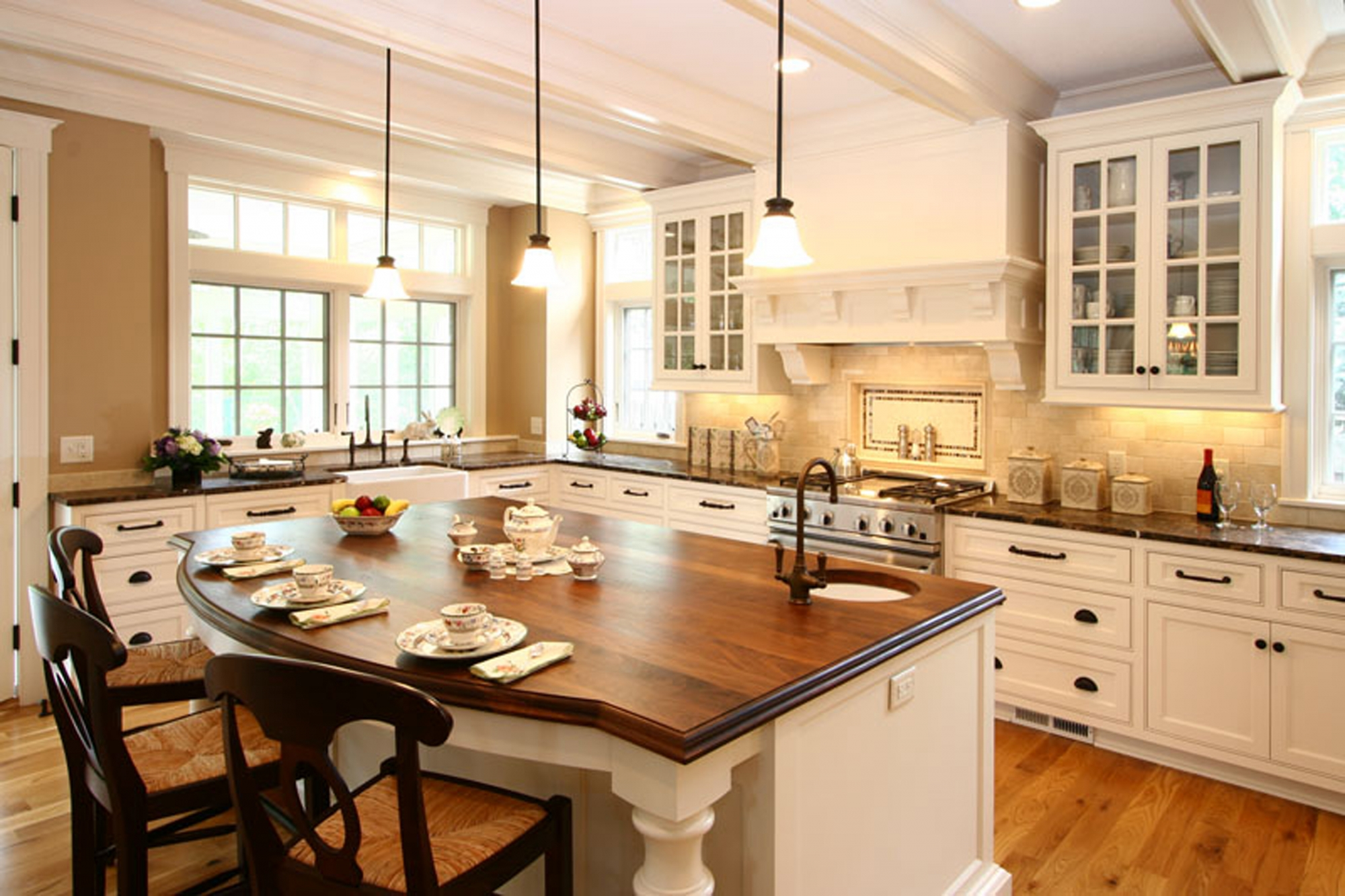 good colors for kitchens - homesfeed