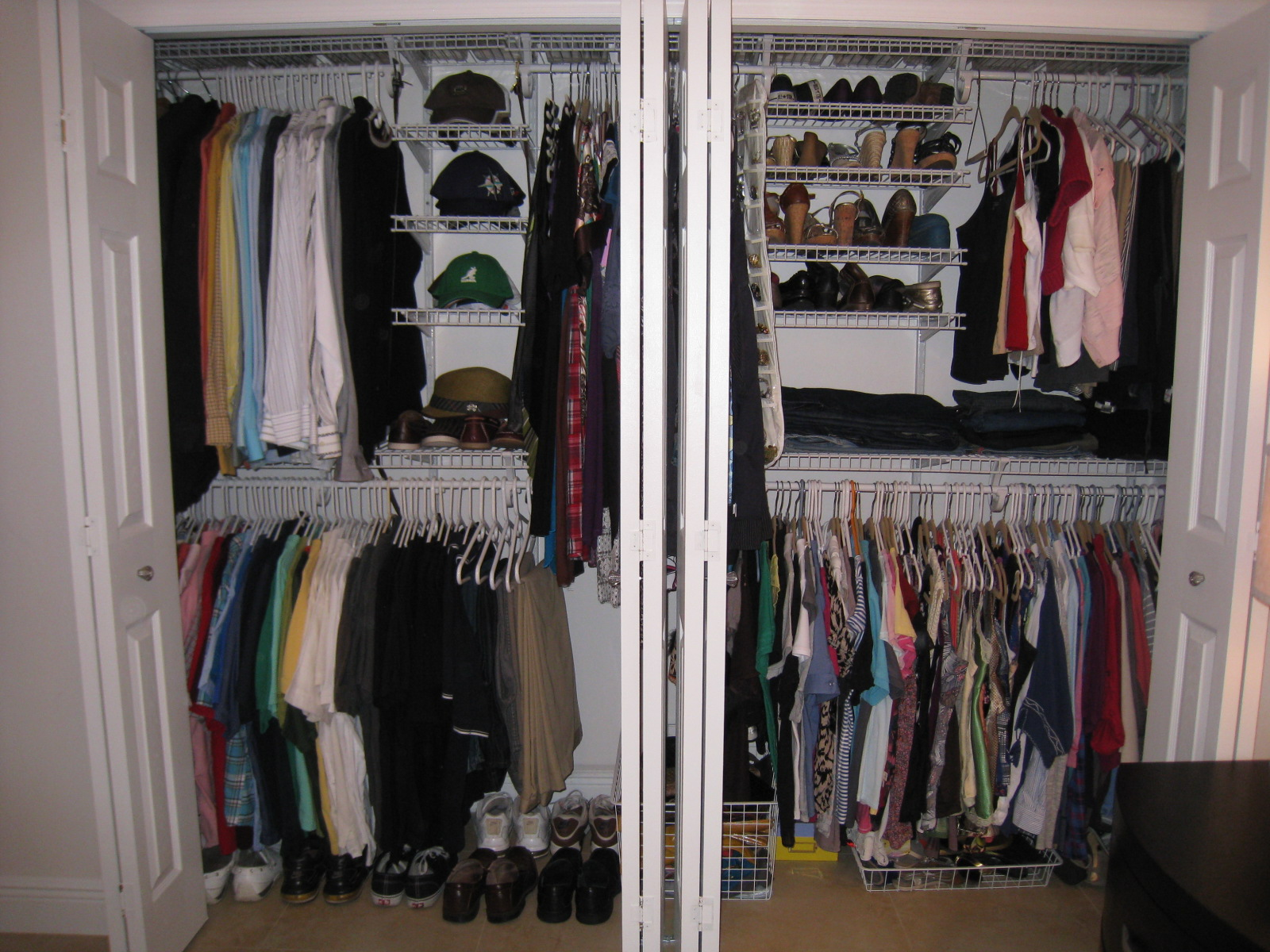 His And Hers Closet Organizer Revolutionhr