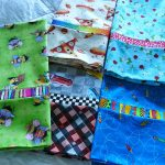 Colorful Kids Theme Of Pillow Case