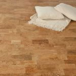 Cork floors in different natural tone colors