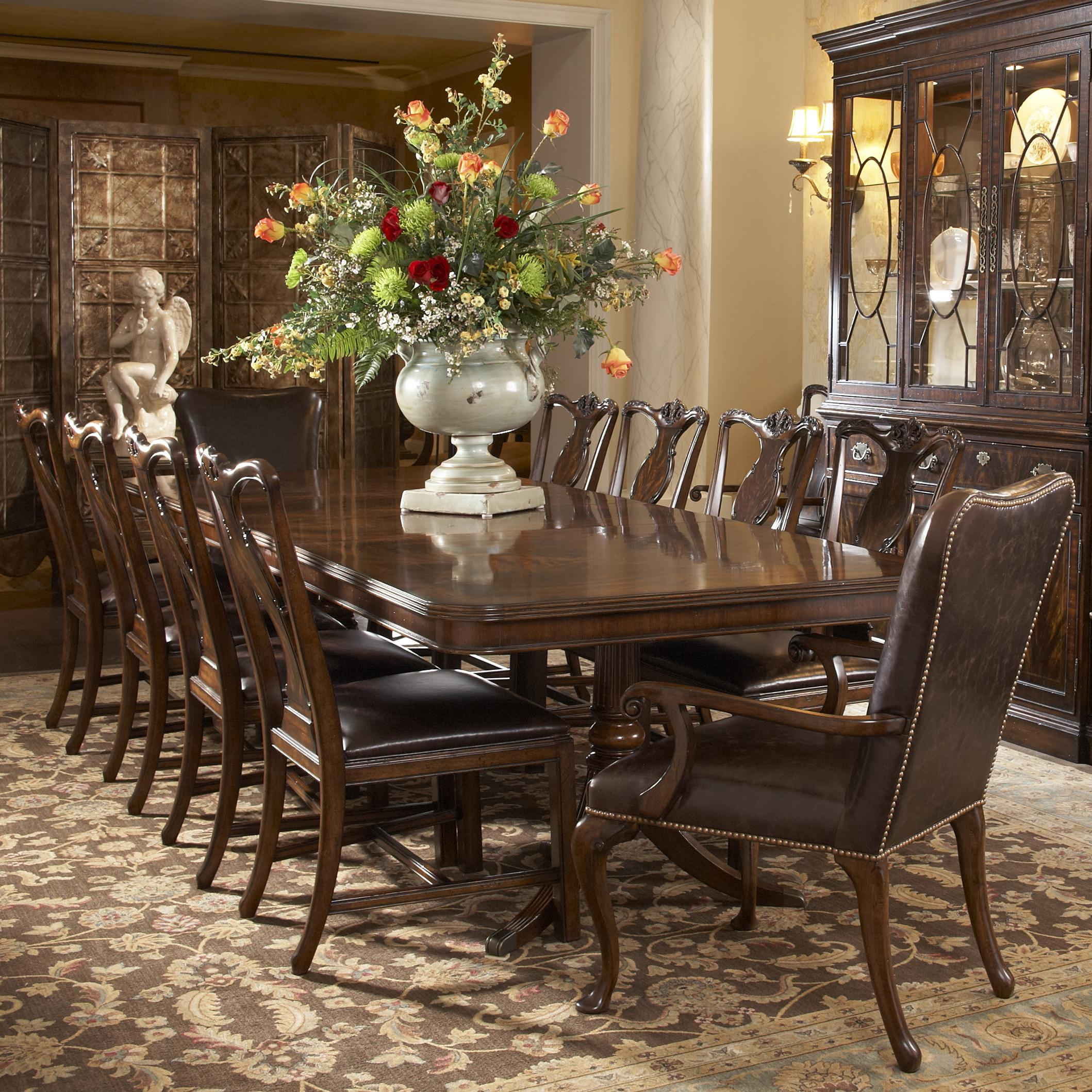 Dining Room Table Sets: 11 Piece Dining Room Set