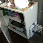 Diy White Furniture Cat Litter Box Cabinet