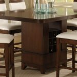 Elegant Dining Room Wooden Table And 4 Chairs