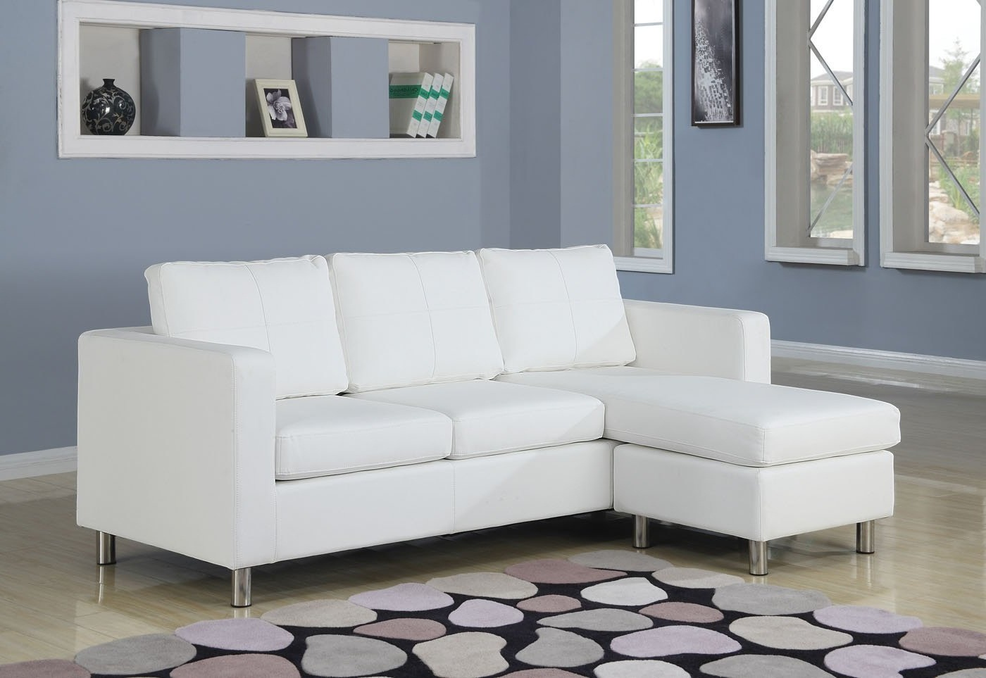 Small sectional sofa with chaise perfect choice for a - Small apartment sectional sofa ...