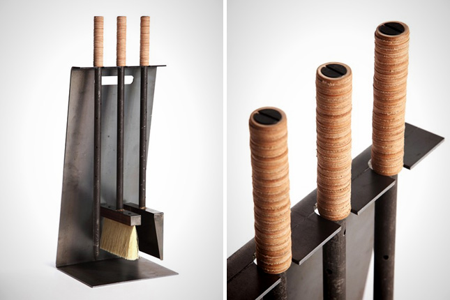 modern fireplace tools homesfeed rh homesfeed com